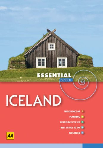 9780749549565: AA Essential Spiral Iceland (AA Essential Spiral Guides)