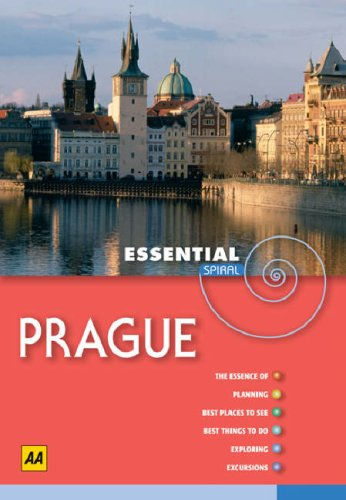 AA Essential Spiral Prague (AA Essential Spiral: Publishing, AA