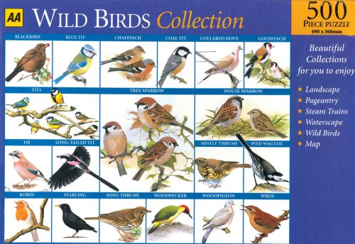 9780749549732: Wild Birds Collection 2 (AA Jigsaw Collection)