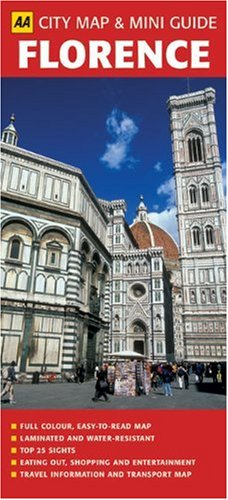 9780749552374: AA City Map & Mini Guide: Florence
