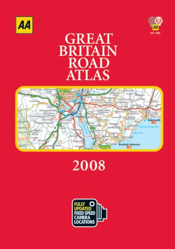 AA Great Britain Road Atlas 2008 (Aa: AA Publishing
