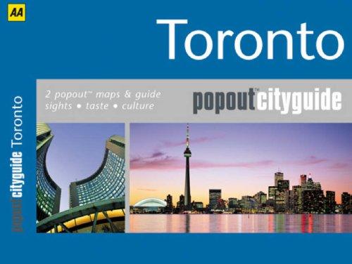 9780749553449: Toronto (AA Popout Cityguides) (AA Popout Cityguides)