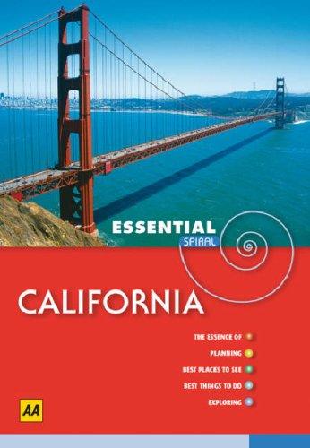 9780749553524: California (AA Essential Spiral Guides)