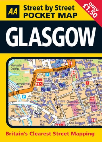 AA Street by Street: Pocket Map Glasgow: AA Publishing
