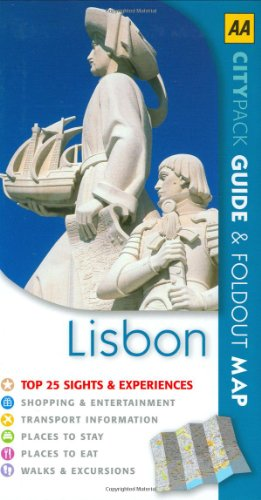 9780749554910: Lisbon (AA CityPack Guides)