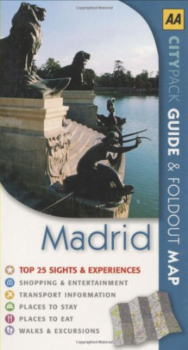 Madrid (AA CityPack Guides) (AA CityPack Guides): Jonathan Holland