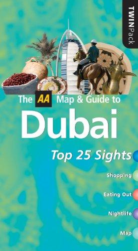 9780749555412: Dubai (AA TwinPack) (AA Popout Cityguides)