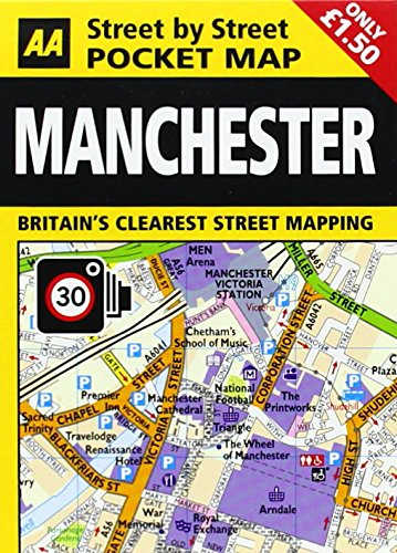 9780749555672: Pocket Map Manchester