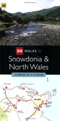 9780749555993: 50 Walks in Snowdonia & North Wales: 50 Walks of 2-10 Miles