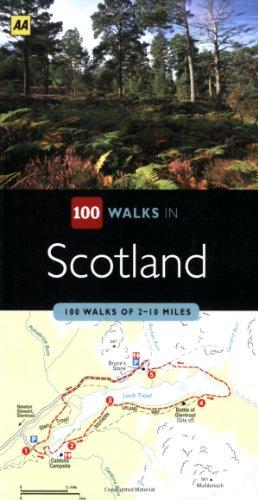 100 Walks in Scotland: 100 Walks of 2-10 Miles: AA Publishing