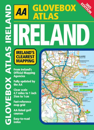 9780749556051: AA Glovebox Atlas Ireland (AA Atlases and Maps)