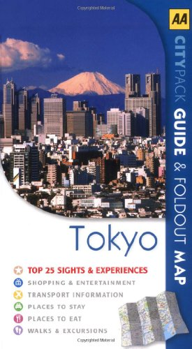 9780749557089: Tokyo (AA CityPack Guides)