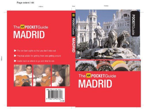 Madrid (The AA Pocket Guide): n/a