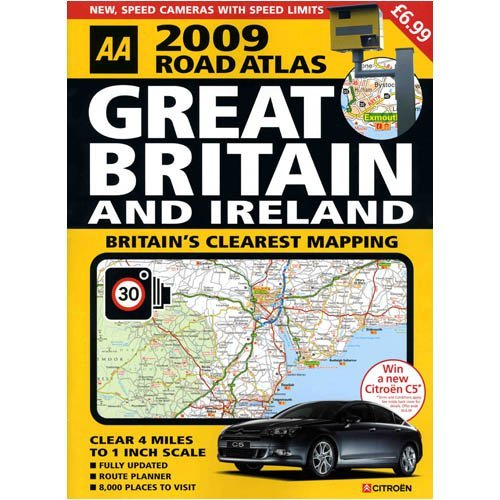 2009 Great Britain and Ireland Road Atlas
