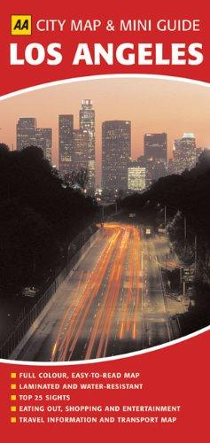 9780749560379: Aa City Map & Mini Guide: Los Angeles