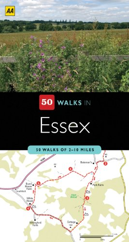 50 Walks in Essex: AA Publishing