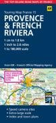 9780749560980: Provence and French Riviera (AA Road Map France Series)