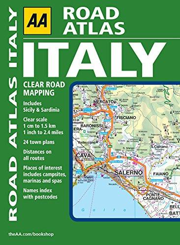 9780749561017: AA Road Atlas Italy