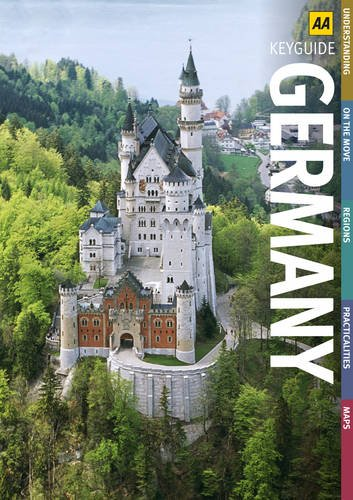 9780749562311: Germany (AA Road Map Europe Series)