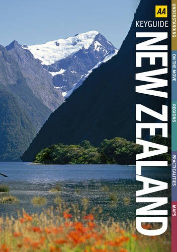 9780749562335: New Zealand (AA Spiral Guides)