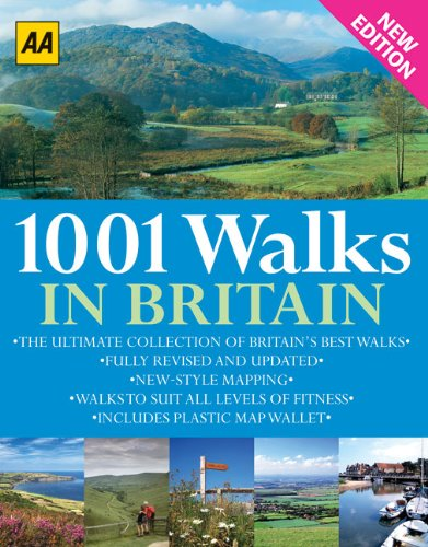 9780749563332: 1001 Walks in Britain