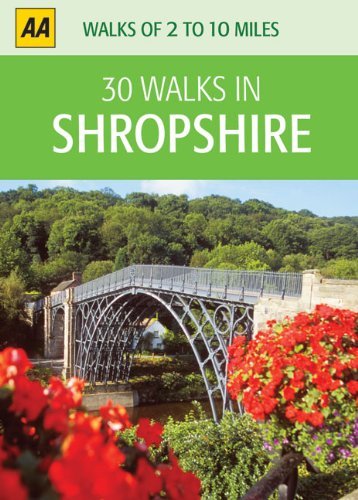 30 Walks in Shropshire (30 Walks boxed series): AA Publishing