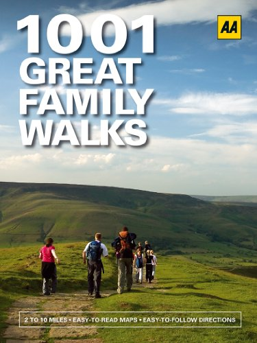 9780749565091: 1001 Great Family Walks (AA 1001 Series)