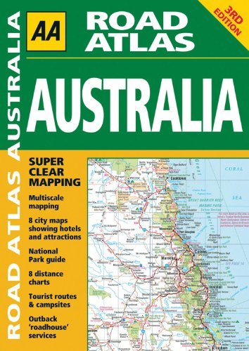 AA Road Atlas Australia: AA Publishing
