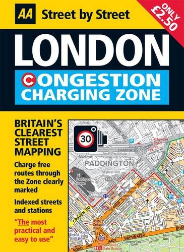 9780749565749: London Congestion Zone Charging Map
