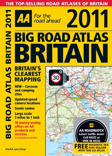 9780749566166: AA Big Road Atlas Britain [With Magnetic Tax Disc Holder]