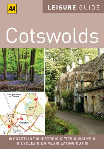 9780749566852: AA Leisure Guide Cotswolds (AA Leisure Guides)
