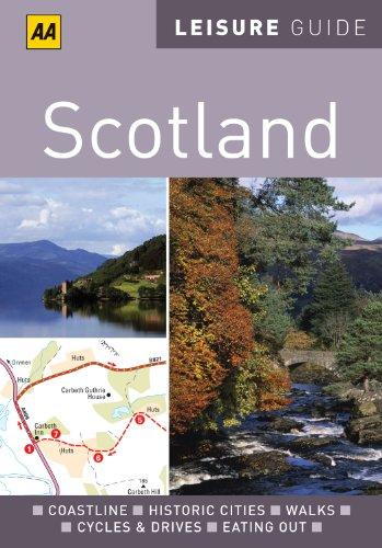 9780749566937: AA Leisure Guide Scotland