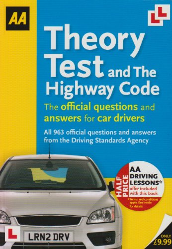 Driving Test Theory and Highway Code (Aa: AA Publishing