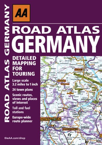 Road Atlas Germany (Aa Road Atlas) - AA Publishing
