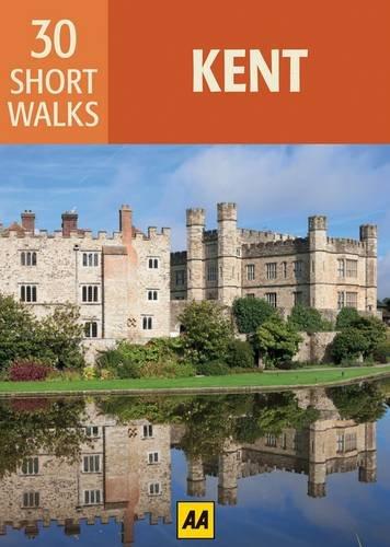 9780749570507: 30 Short Walks in Kent (Aa 30 Short Walks Boxed Cards)