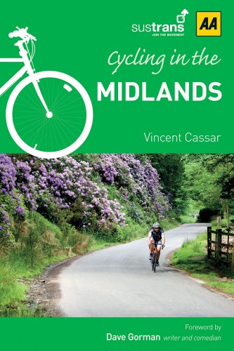 9780749572495: Cycling in Midlands