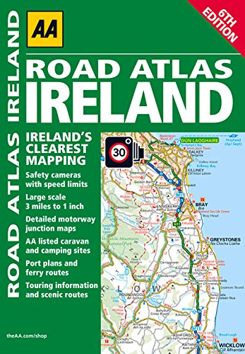 9780749572594: AA Road Atlas Ireland