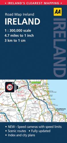 9780749572600: AA Road Map Ireland