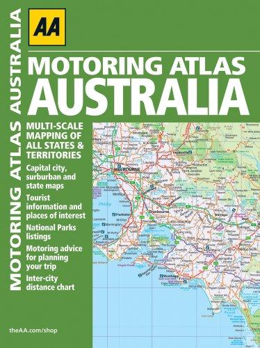 9780749572624: AA Motoring Atlas Australia (Aa Road Atlas)