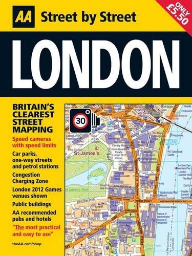 9780749572686: Aa London: Street by Street