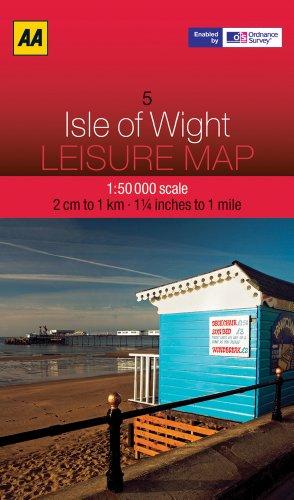 9780749572877: Leisure Map Isle of Wight (Aa Leisure Maps)