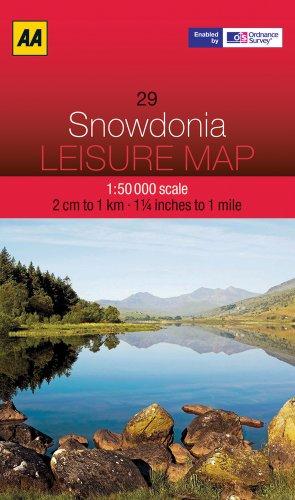 9780749572976: Leisure Map Snowdonia (AA Leisure Maps)