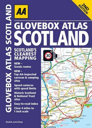 9780749573416: AA Glovebox Atlas Scotland