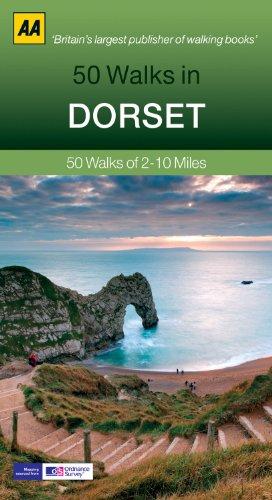 9780749574000: 50 Walks in Dorset: 50 Walks of 2–10 Miles