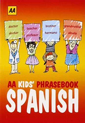 9780749574192: AA Kids Phrasebook: Spanish (Spanish and English Edition)