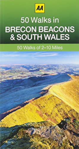 9780749574802: 50 Walks in Brecon Beacons & South Wales
