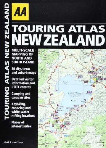 9780749575007: Touring Atlas New Zealand