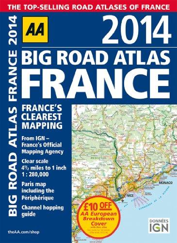 9780749575243: Big Road Atlas France 2014