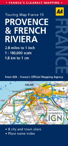 9780749575595: Road Map Provence & French Riviera (Road Map France)