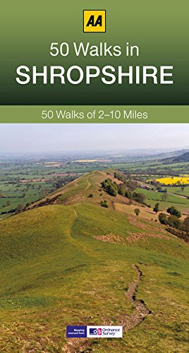 9780749575724: 50 Walks in Shropshire (AA 50 Walks series)